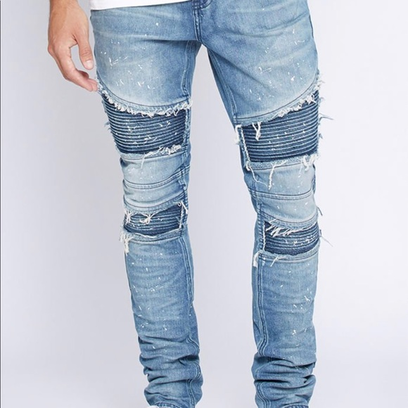 PacSun stacked skinny moto jeans men s 32 x32. M 5a4f2e8efcdc31cf8601820f bae31f531a9a